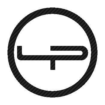 Sticker Carbone Lapierre Vélo Logo 3