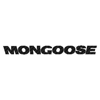 Mongoose logo Carbon Decal 3