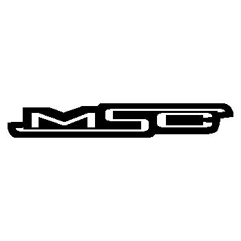 MSC bikes logo Decal