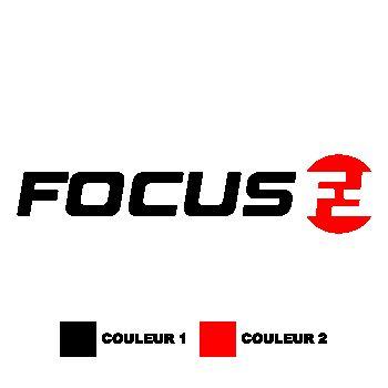 Sticker Focus vélos logo