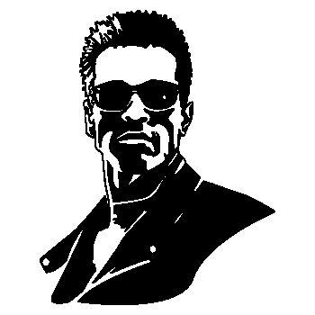 Sticker Arnold Schwarzenegger