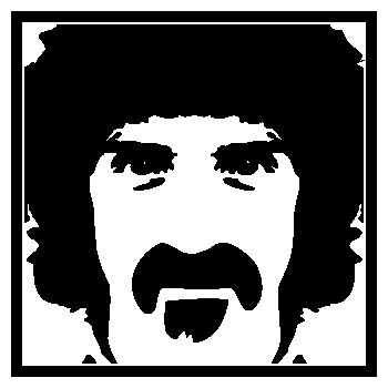 > Sticker Franck Zappa