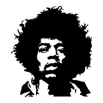 Jimmy Hendrix Decal