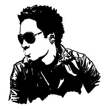 Sticker Lenny Kravitz