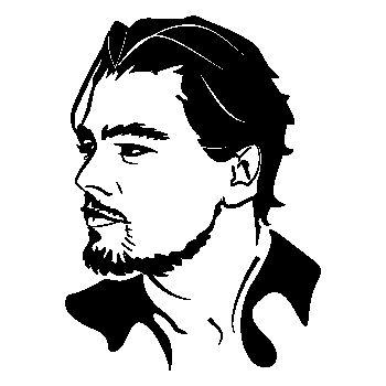 Sticker Leonardo Dicaprio