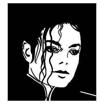 Sticker Michael Jackson 4