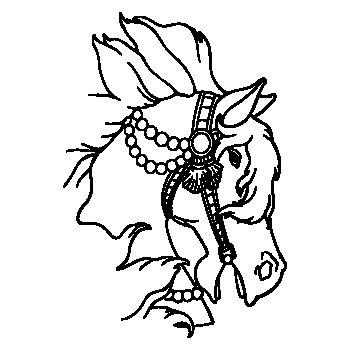 Princess Horse Decal