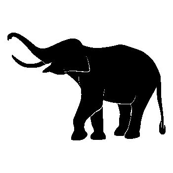 > Sticker Éléphant
