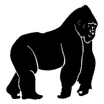 > Sticker Gorilla King Kong