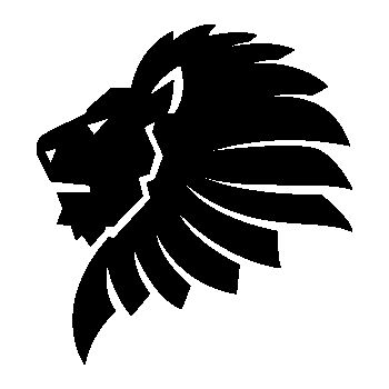 African Lion Decal