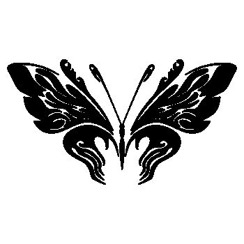 Butterfly Decal 71