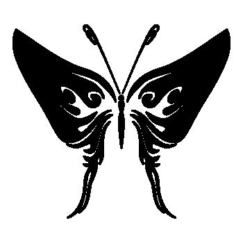 Butterfly Decal 72