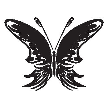 Butterfly Decal 73