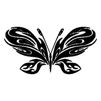 Butterfly Decal 74