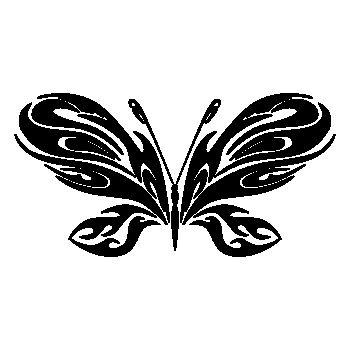Sticker Papillon 74