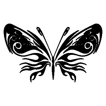 Butterfly Decal 75