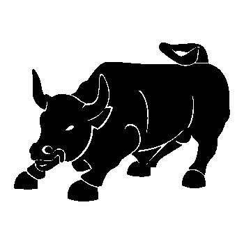 Bull Decal 2