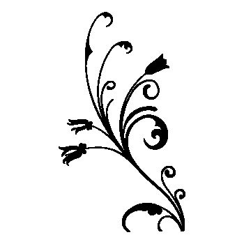 Design flowers element Decal 2