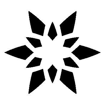 Sticker Étoile Fleur