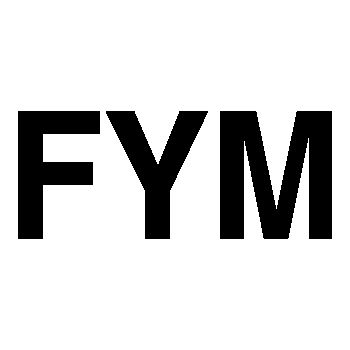 FYM logo Decal 4