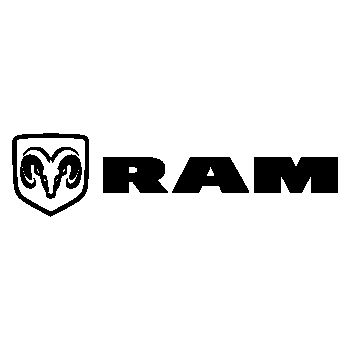 Dodge RAM Logo Decal 2