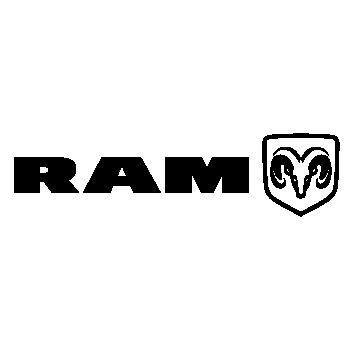Dodge RAM Logo Decal 3