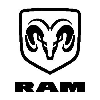 Dodge RAM Logo Decal 4
