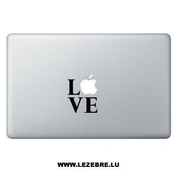 Sticker Macbook LOVE