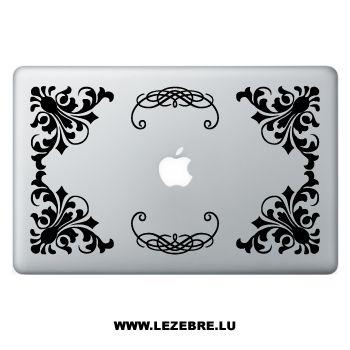 Sticker ordi Baroque Design