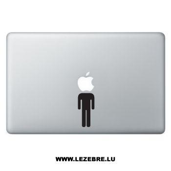 Sticker Macbook Bonhomme