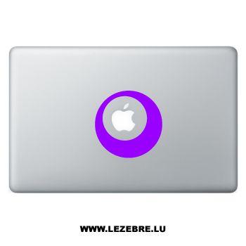 Sticker Macbook Cercle Design