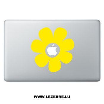 Sticker Macbook Flower 2