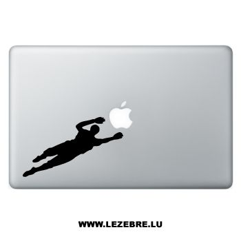 Sticker Macbook Goalkeeper Football