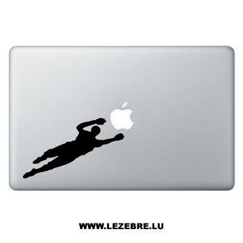Sticker Macbook Gardien de But Football