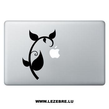 Sticker Macbook Pflanze