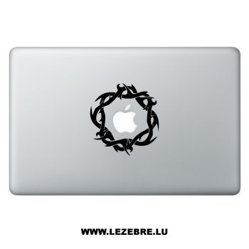 Sticker Macbook Tribal Thorn