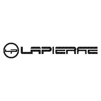 Sticker Carbone Lapierre Vélo Logo