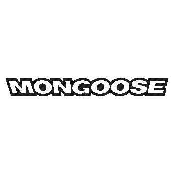 Mongoose logo Carbon Decal 2