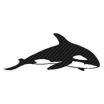 Sticker Carbone Baleine