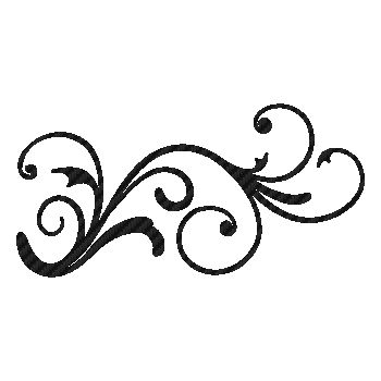 Design flowers element Carbon Decal