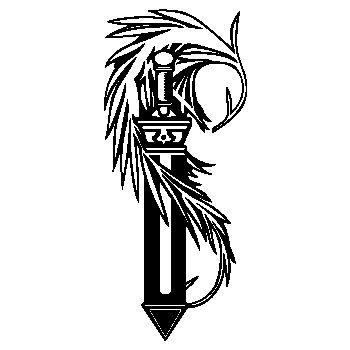 Warrior sword T-shirt