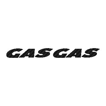 GAS-GAS Logo Carbon Decal 3