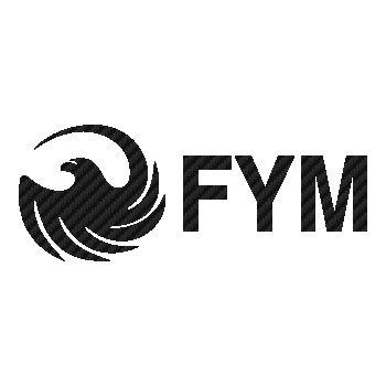 FYM logo Carbon Decal 3