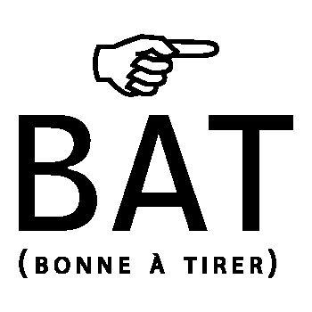 She's BAT ( Bonne à tirer) humour T-shirt