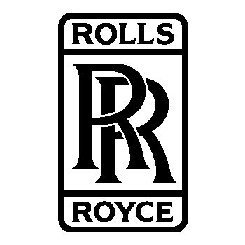 Rolls Royce logo Decal 3