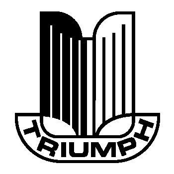Triumph car logo Decal