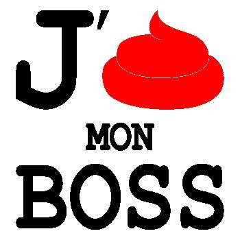 J'emm**de mon boss T-shirt