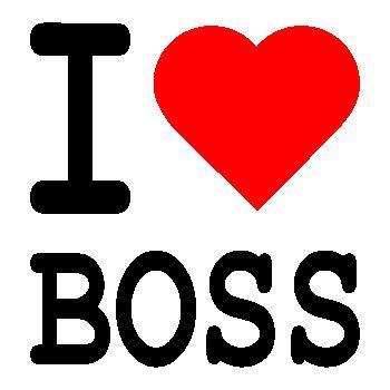 I love Boss T-shirt