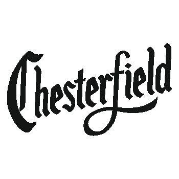 Sticker Cigarettes Chesterfield Logo
