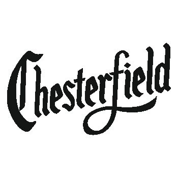 Chesterfield cigarettes logo T-shirt
